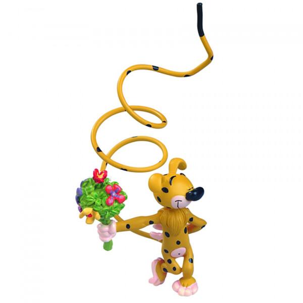 Mini Figure: Marsupilami with Bouquet of Flowers