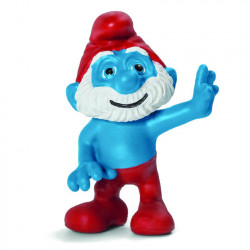 Mini Figure: Papa Smurf waving