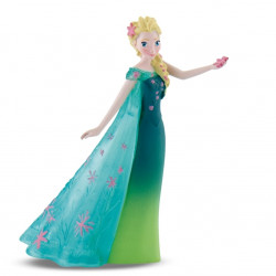 Mini Figure: Queen Elsa with green transparent gown
