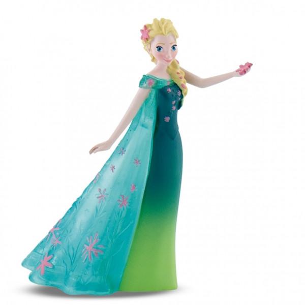 Μίνι φιγούρα: Βασίλισσα Έλσα με πράσινο διάφανο φόρεμα
