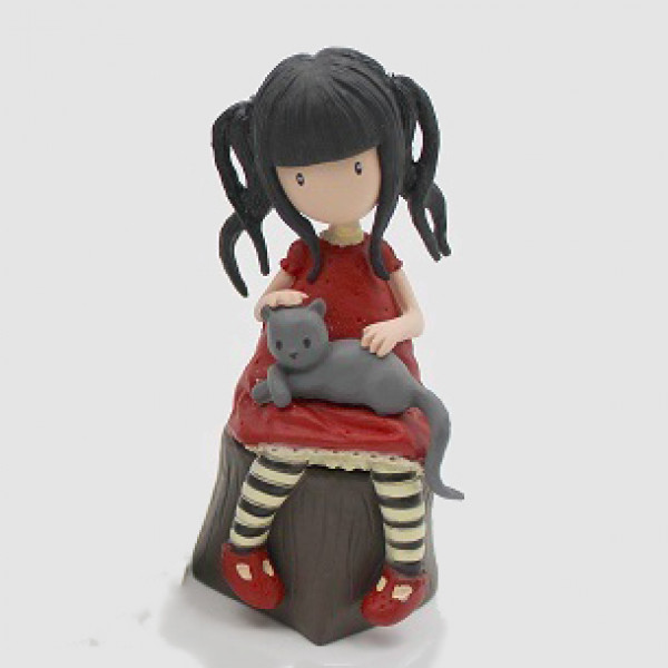 Mini Figure: Ruby with her cat
