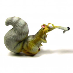 Mini Figure: Scrat with twisted tail