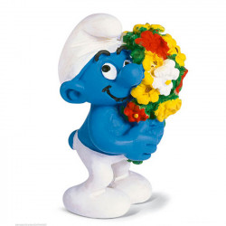 Mini Figure: Smurf with bucket