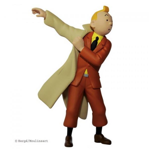 Mini Figure: Tintin in trenchcoat