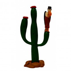Mini Figure: Vulture on cactus