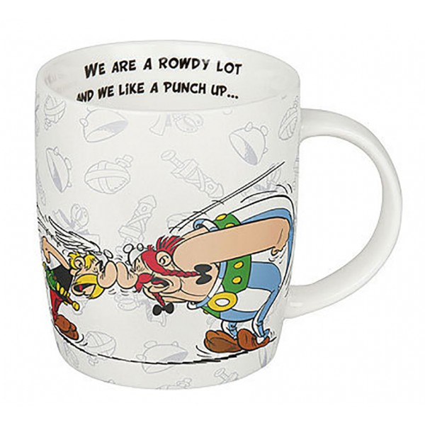 "Mug Asterix ""... but we love our friends"""