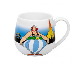 "Mug Asterix ""I'm not fat!"""