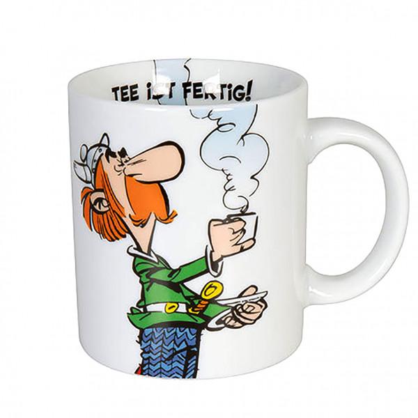 """Κούπα Αστερίξ """"Tee ist fertig!"""" (Το τσάι είναι έτοιμο)"""