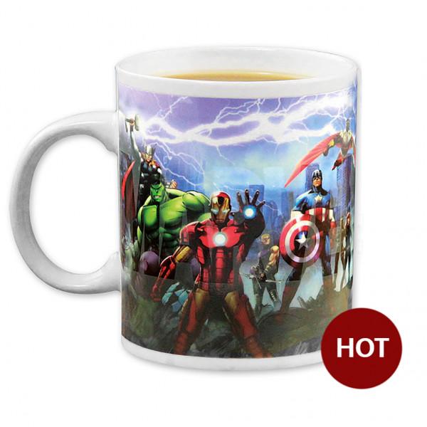 Mug Avengers - Heat Change