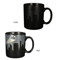 Mug - Heat Change - Batman Dark Logo