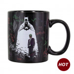Mug - Heat Change - Batman & The Joker