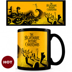 Mug - Heat Change - Nightmare before Christmas: Graveyard Scene