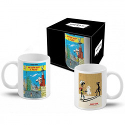Mug Lucky Luke - Cow-Boy à Paris