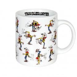 """Mug Lucky Luke """"Troubleshooter"""""""