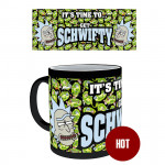 "Mug Rick and Morty - ""Get Schwifty"" Heat Change"