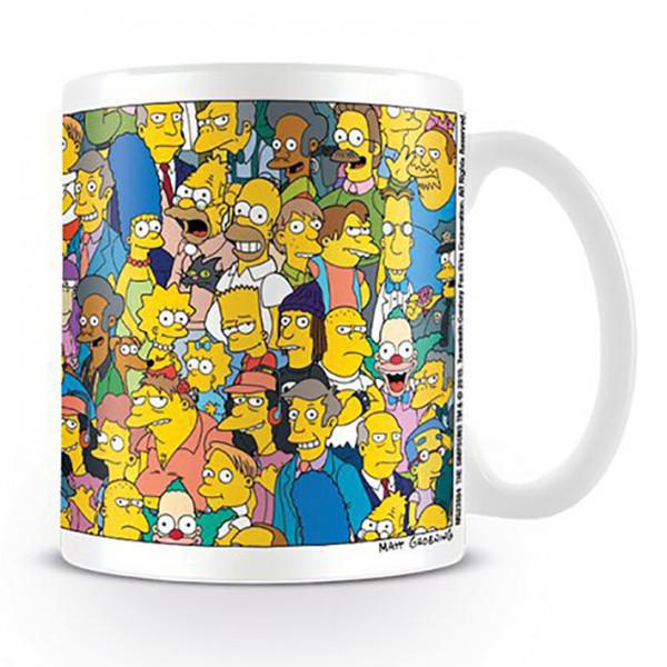 Mug Simpsons - A Normal Week