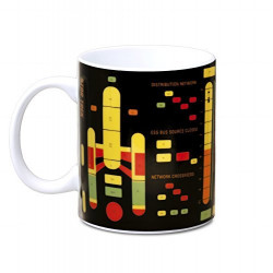 Mug Star Trek - Starship Graph