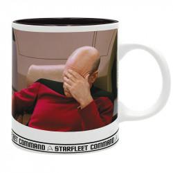 Mug Star Trek: Picard Facepalm
