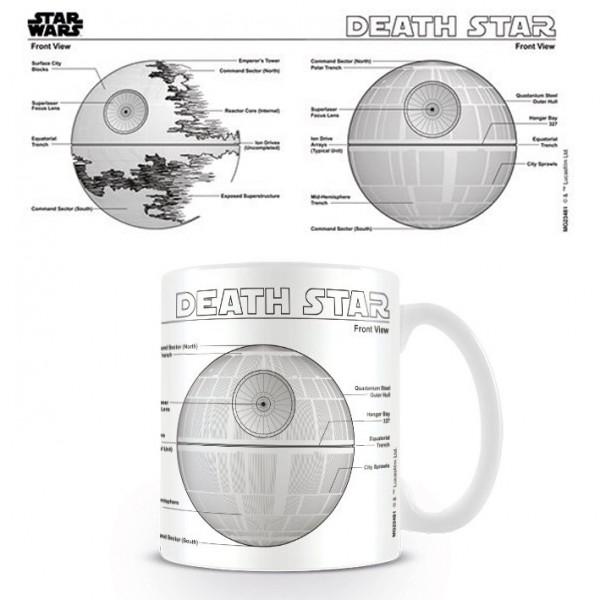 Mug Star Wars - Death Star Sketch