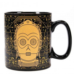 Mug Star Wars - Heat Change - C-3PO