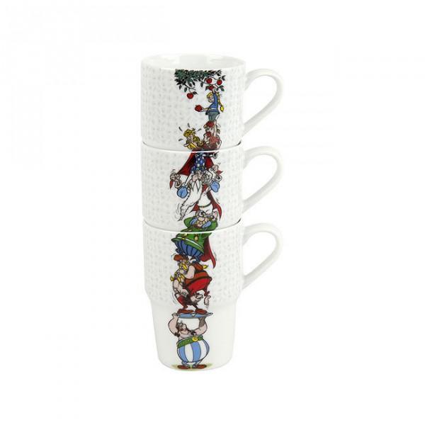 Mugs Asterix 3pc set - The Appletree
