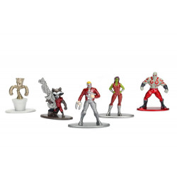 Nano MetalFigs - 5-Pack Guardians of the Galaxy