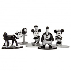 Nano MetalFigs - 5-Pack Mickey's 90 years