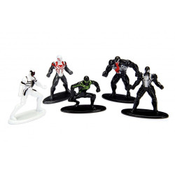 Nano MetalFigs - 5-Pack Spiderman Wave 2