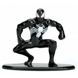 Nano MetalFigs - Black Costume Spiderman