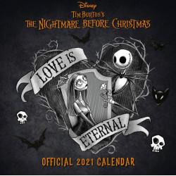 Χριστουγεννιάτικος εφιάλτης: Ημερολόγιο 2021 (στα Αγγλικά)