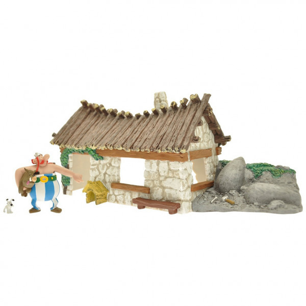 Obelix's House plus Obelix's mini figurine