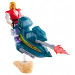 Action Figure: Masters of the Universe Origins - Πρίγκιπας Άνταμ με Sky Sled