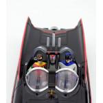 Batmobile 1966 με τον Batman και τον Robin (κλίμακα 1:24)