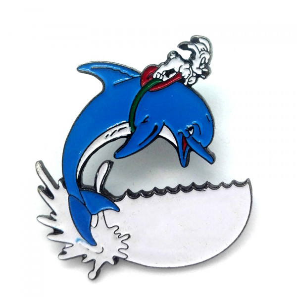 Pins of Asterix Series: Idefix with dolfin