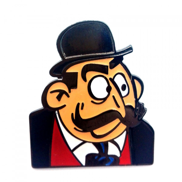 Pins Σπιρού και Φαντάζιο: Le maire de Champignac
