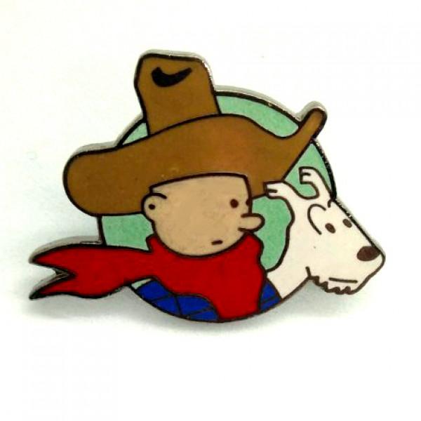 Pins of Tintin Series: Tintin Cowboy