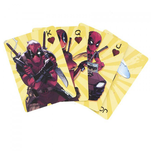 Playing Cards: Deadpool