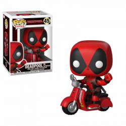 POP! Vinyl Bobble Head - Deadpool & Scooter 9 cm