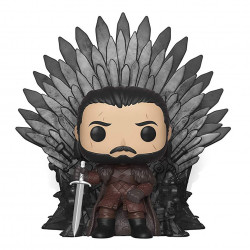 POP! Vinyl Figure - Game of Thrones: Jon Snow on Iron Throne