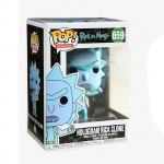 Rick and Morty POP! Vinyl Bobble-Head - Hologram Rick Clone