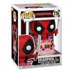 Marvel Deadpool 30th Anniversary POP! Vinyl Bobble Head - Deadpool in Cake