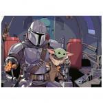 Παζλ: Star Wars - The Mandalorian with the Child
