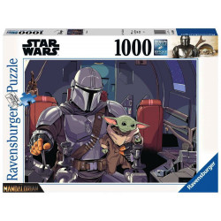 Puzzle: Star Wars - The Mandalorian with the Child