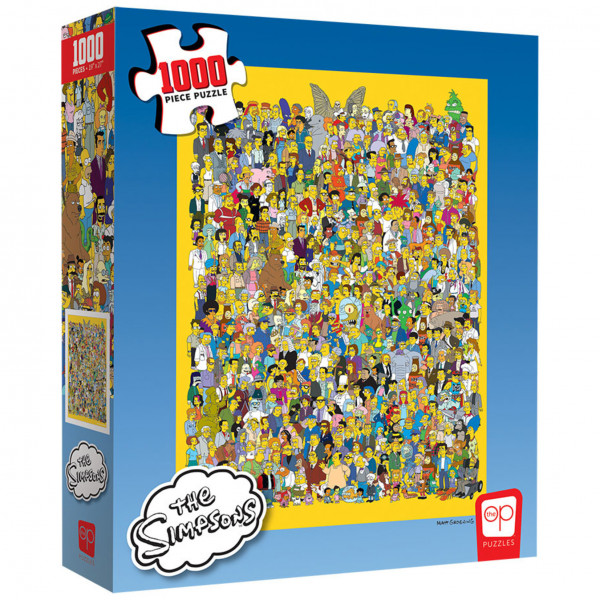Puzzle: The Simpsons: Cast of Thousands