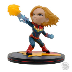 Q-Fig Diorama: Captain Marvel
