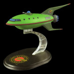 Q-Fig Diorama: Futurama Planet Express Ship