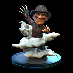 Q-Fig Diorama: Nightmare on Elm Street - Freddy Krueger