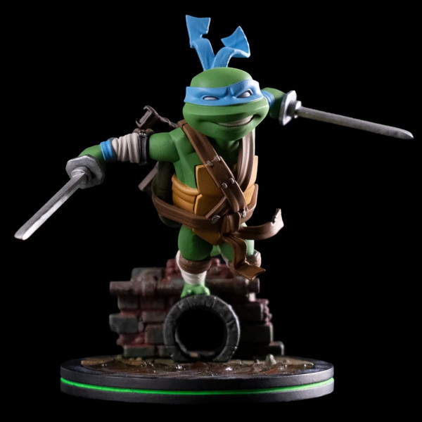 Q-Fig Diorama: Teenage Mutant Ninja Turtles - Leonardo