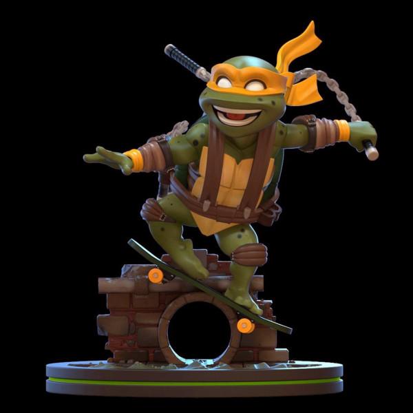Q-Fig Diorama: Teenage Mutant Ninja Turtles - Michelangelo