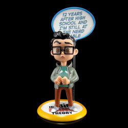 Q-Fig Diorama: The Big Bang Theory - Leonard Hofstadter